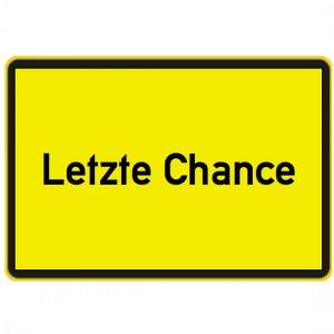 letzte chance
