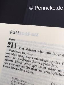 Mord Thomas Penneke Anwalt Strafrecht Rostock Strafverteidigung Strafverteidiger