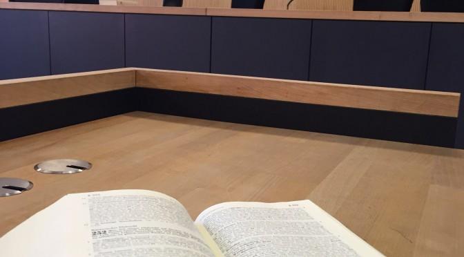 Kameras im Gerichtssaal?